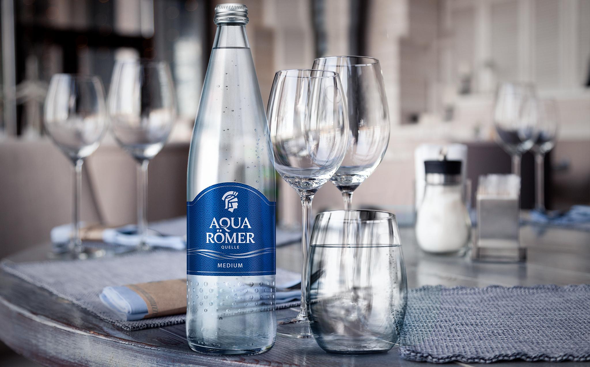 Aqua Römer Wasser